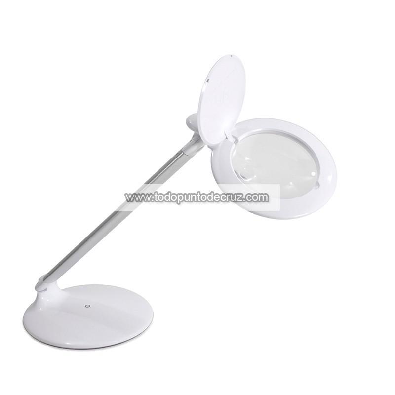 Lámpara de sobremesa Halo con Lupa