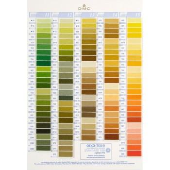 Nueva Carta de colores DMC