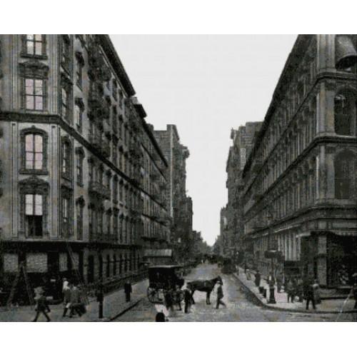 Escena de Nueva York, 1919