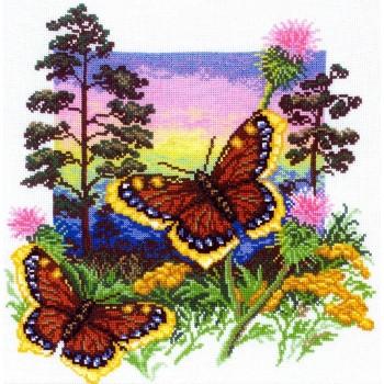 Mariposas y Cardos