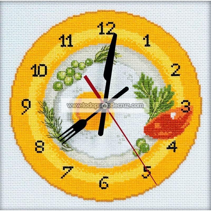 Reloj Hora de Desayunar