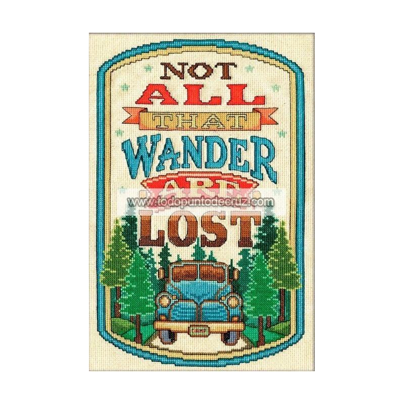 No todos los que caminan sin rumbo están perdidos