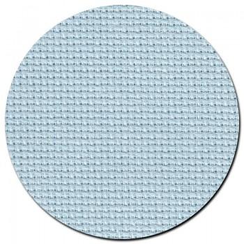 Tela aida 14 ct. Azul Agua