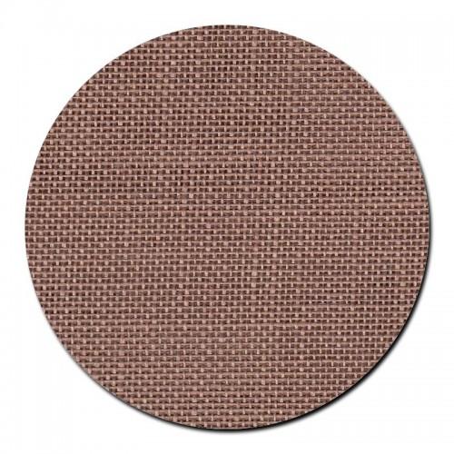 Tela de lino 28 ct. Marrón Chocolate con Leche
