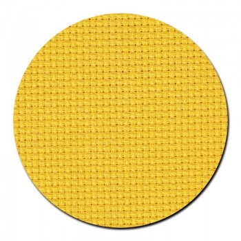 Tela aida 14 ct. Amarillo Brillante