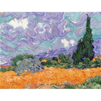 Campo de Trigo con Cipreses (Van Gogh)