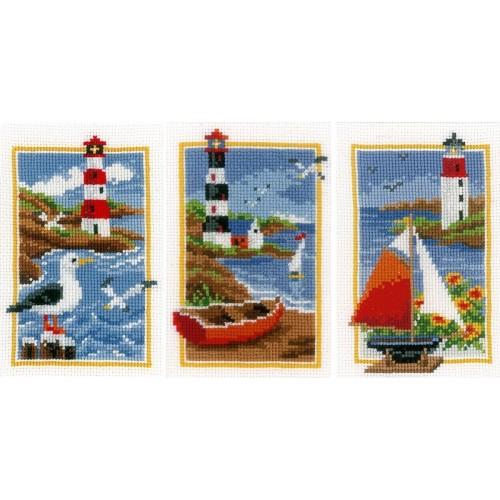Set de 3 Miniaturas Faros