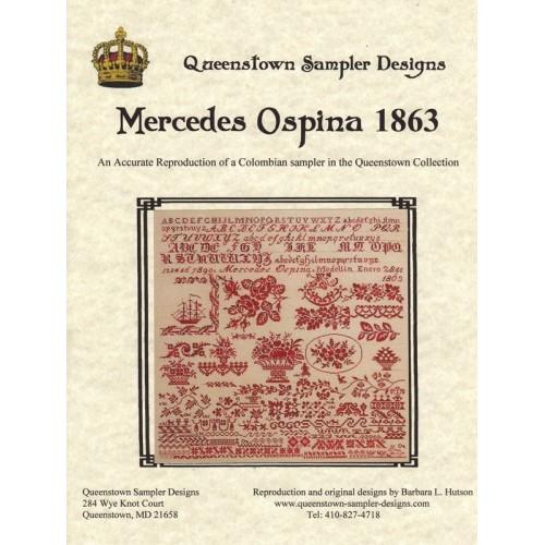 Sampler Mercedes Ospina 1863