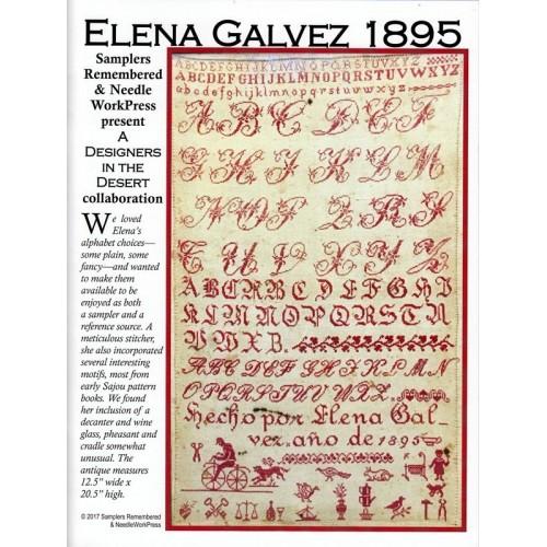 Sampler Elena Galvez 1895