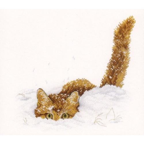 El Gato en la Nieve
