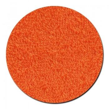 Toalla Lavabo Rizo Naranja