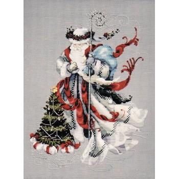 Santa del Invierno Blanco