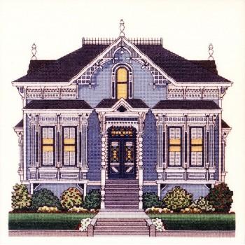 Casa Victoriana Azul