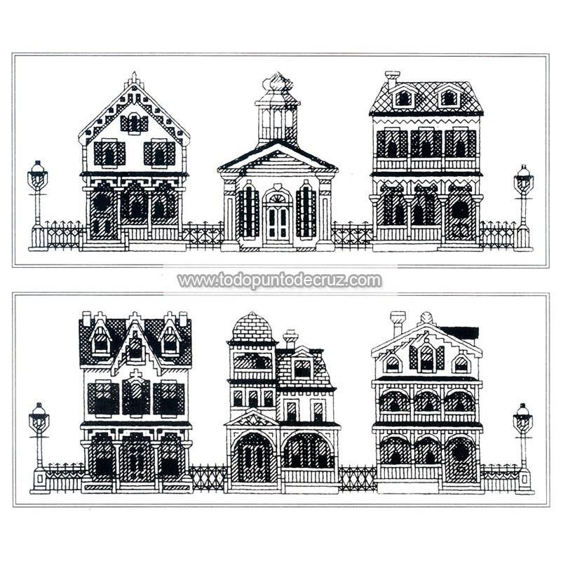 Casas Victorianas en Cabo Mayo