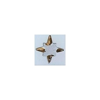 Mill Hill 12108 Crystal Star Gold Tipped