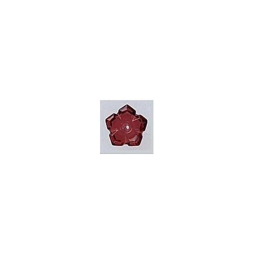Mill Hill 12009 5 Petal Dim Flower Ruby