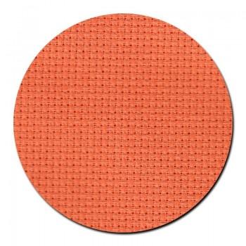 Tela aida 14 ct. Naranja Brillante