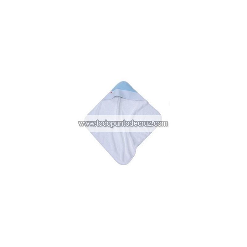 Pastel Azul: Toalla Capucha