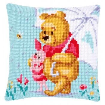 Cojín Winnie the Pooh con Paraguas