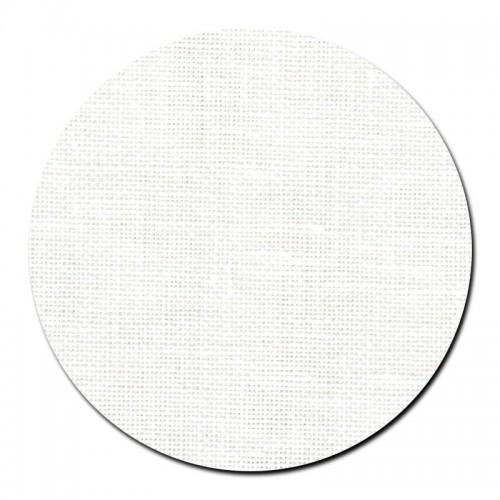 Tela lino 40 ct. Blanco Óptico