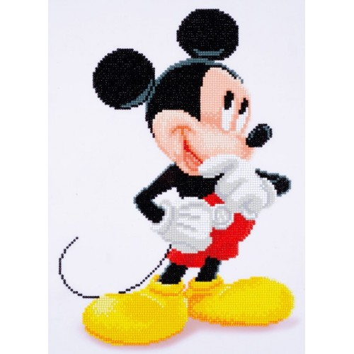 Mickey Mouse con Diamantes