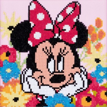 Minnie Mouse con Diamantes