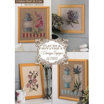 Revista Creaciones en Punto de Cruz Nº 58: Flores y Botánica