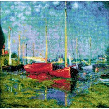 Barcos en Argenteuil (Monet)