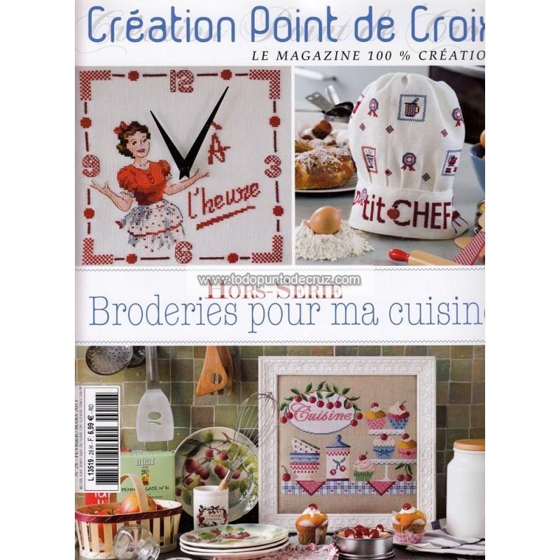 Revista Creaciones en Punto de Cruz Nº 28