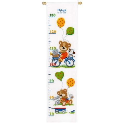 Medidor Osito en Bicicleta