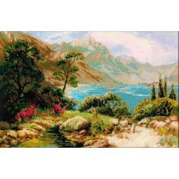 El Lago en las Montañas