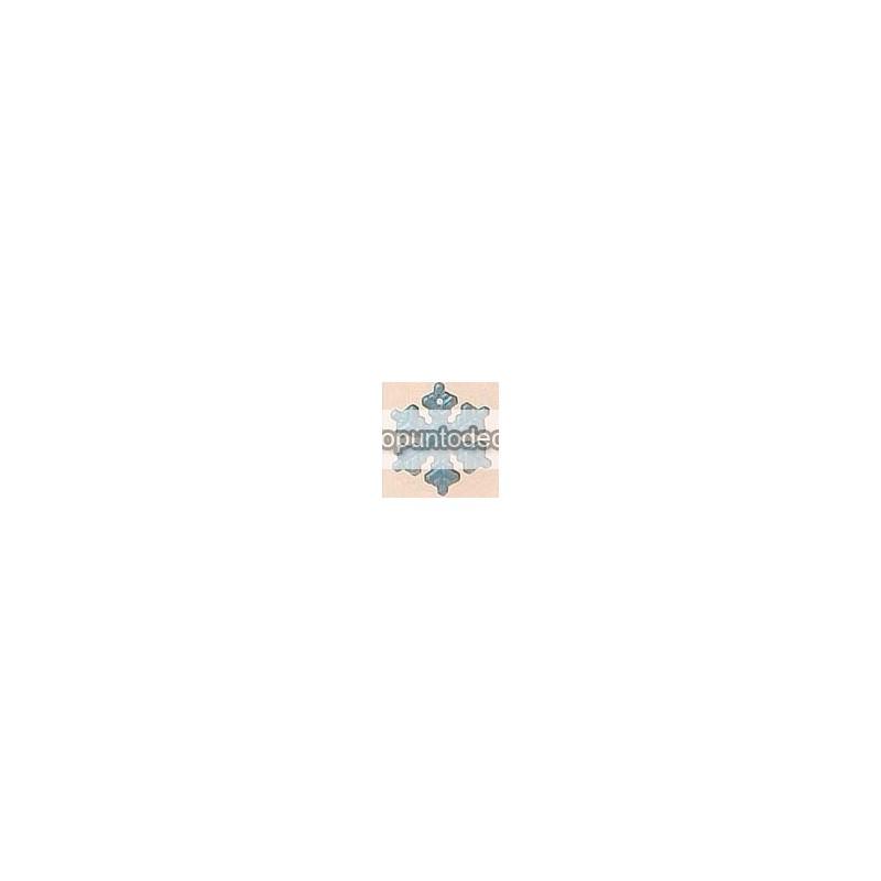 Mill Hill 12162 Medium Snowflake Mt Crystal AB