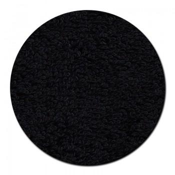 Toalla Lavabo Rizo Negro