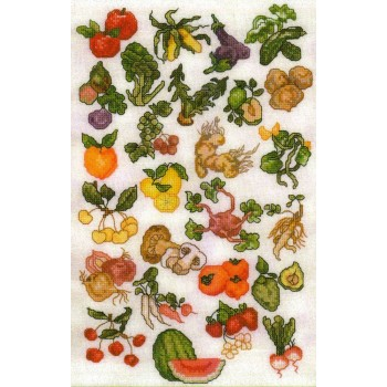 Abecedario de Frutas y Verduras