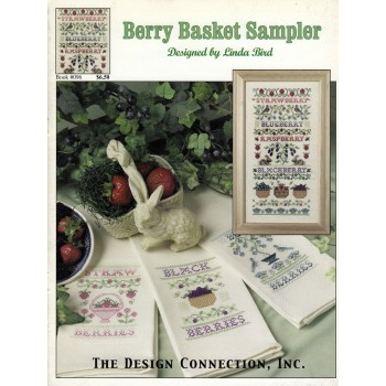 Cestas de Bayas Silvestres Design Connection 096 Berry Basket Sampler