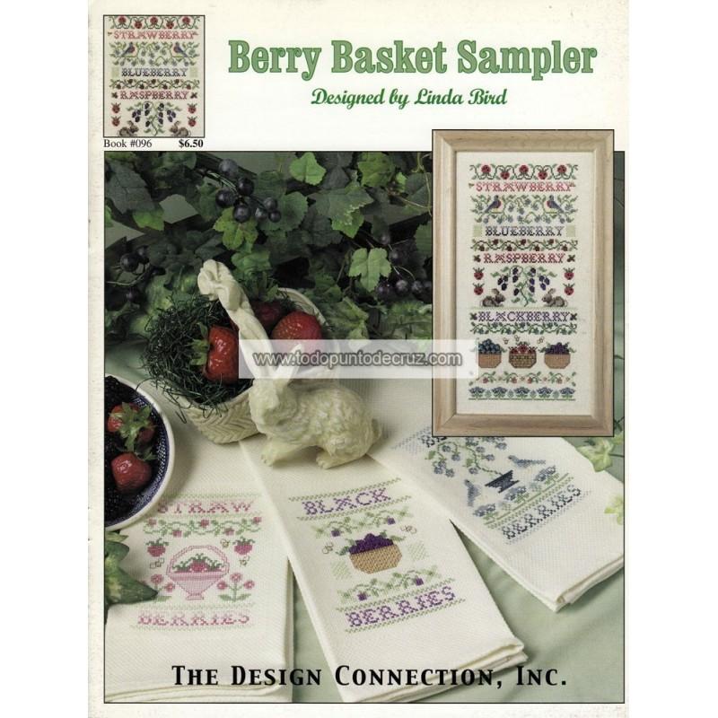 Cestas de Bayas Silvestres Design Connection 096 Berry Basket Sampler