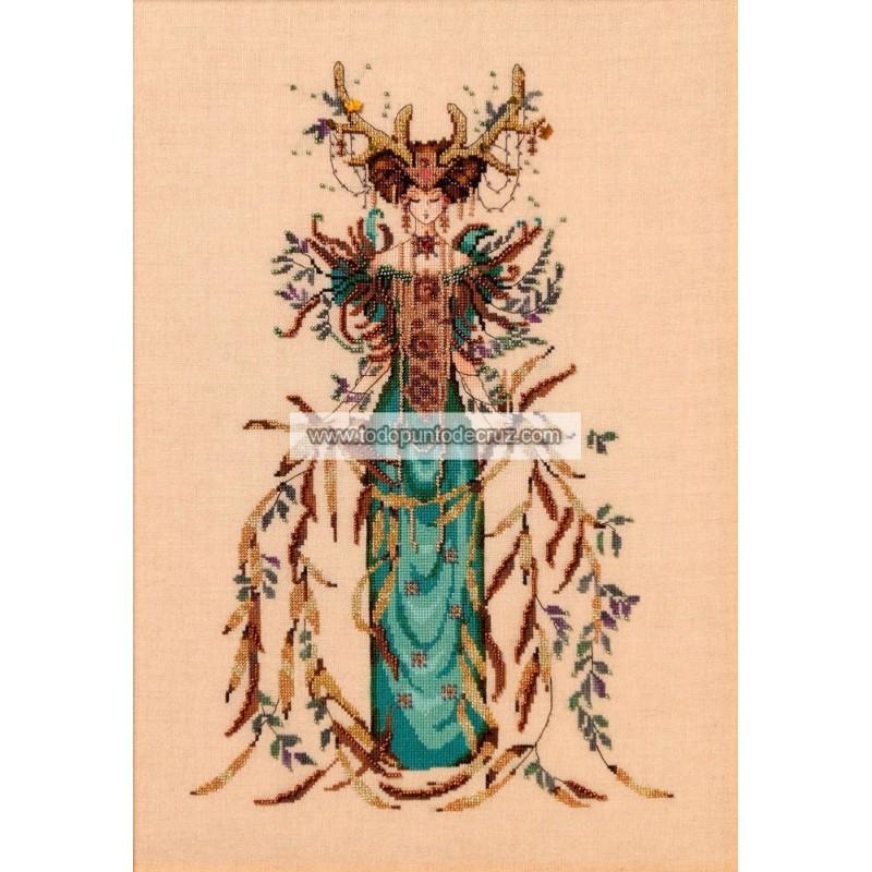 La Diosa de la Catedral del Bosque Mirabilia 164 Cathedral Wood Goddess