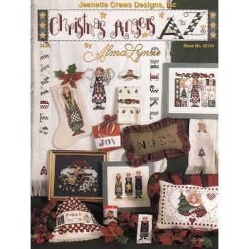 Ángeles Navideños de la A a la Z Jeanette Crews 22154 Christmas Angels A to Z Alma Lynne