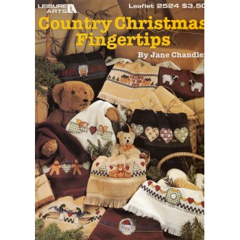 Cenefas Navideñas Leisure Arts 2524 Country Christmas Fingertips