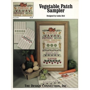 Sampler de Hortalizas Design Connection 091 Vegetable Patch Sampler