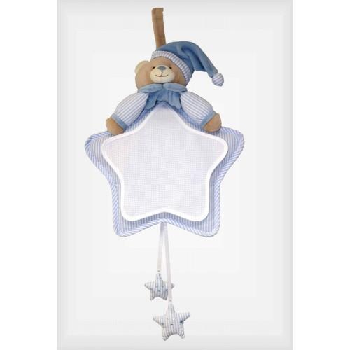 Decoración Bebé Estrella Rayitas