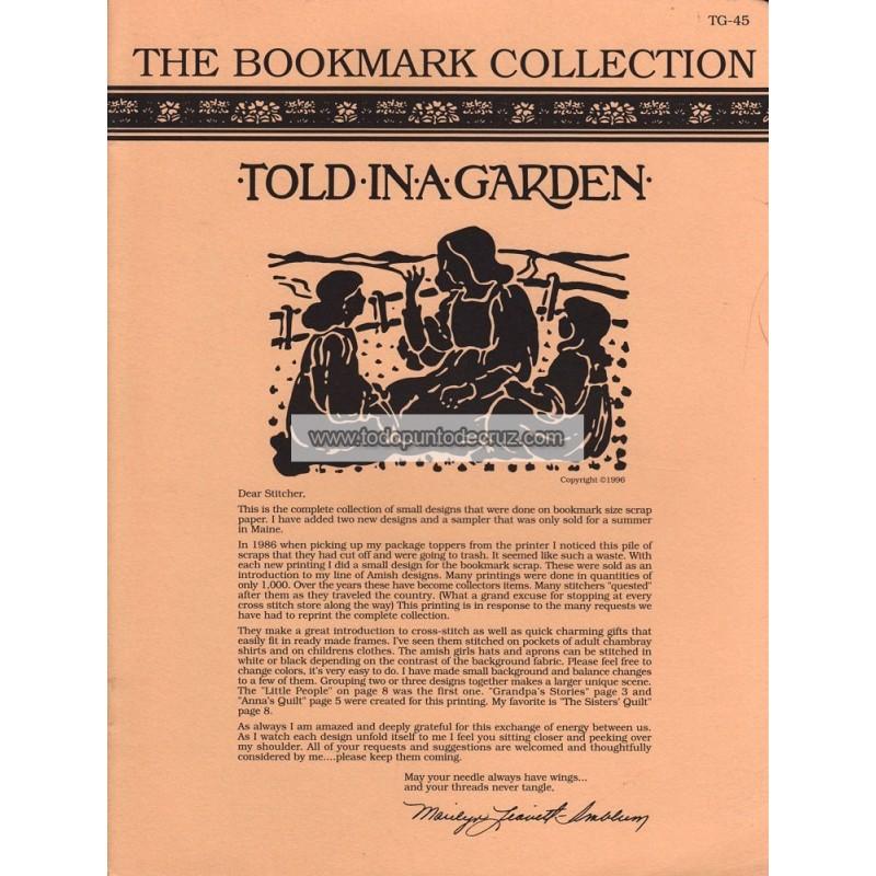 Colección de Marcapáginas Told in a Garden TG45 Bookmark Collection
