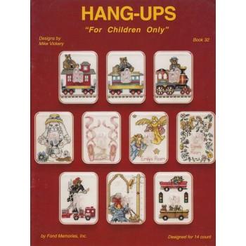 """Colgadores """"solo para Niños"""" Fond Memories Hang-Ups"""