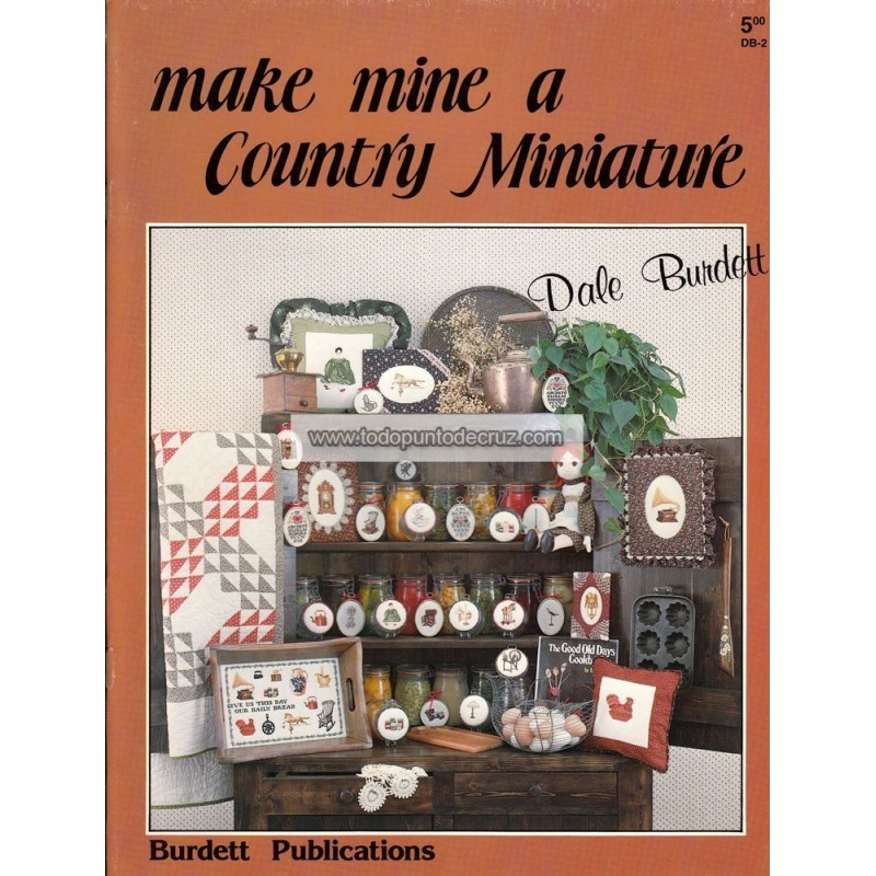 Miniaturas Country Dale Burdett DB-5 Country Miniature