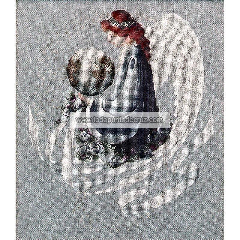 El Ángel de la Tierra Lavender Lace LL16 Earth Angel