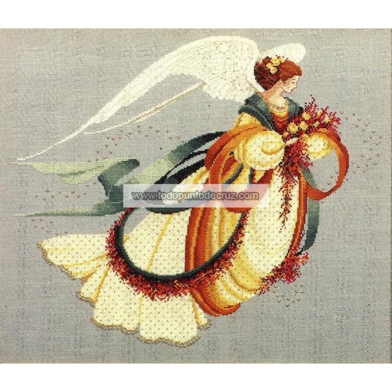 El Ángel del Otoño Lavender Lace LL30 Angel of Autumn