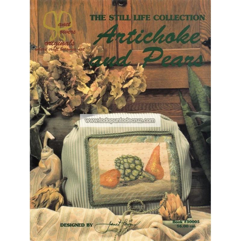 Alcachofas y Peras Jeanette Crews 3005 Janet Powers Artichokes Pears