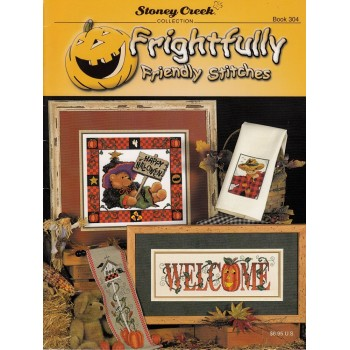 Cuadritos de Halloweeen Stoney Creek 304 Frightfully Stitches
