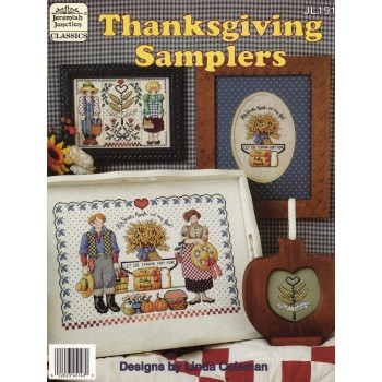 Sampler Otoñal (Acción de Gracias) Jeremiah Junction 191 Thanksgiving Samplers