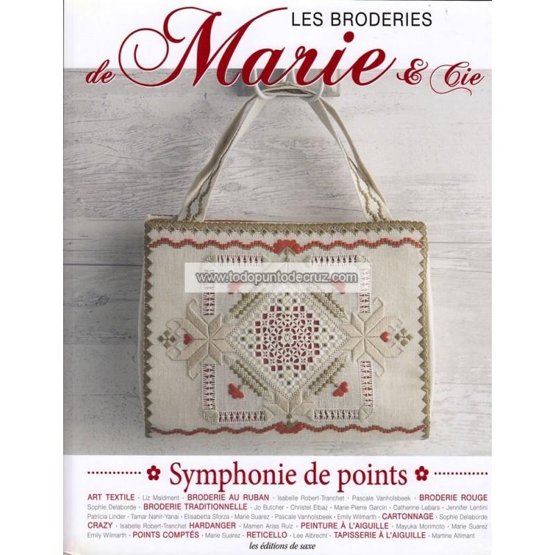Los Bordados de Marie & cia (Sinfonía de puntos) Editions de Saxe 4621008